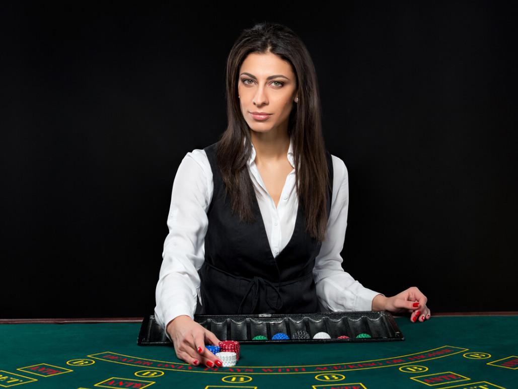 woman dealer